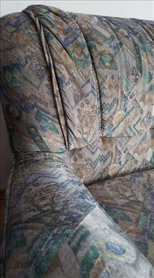 Garnitura Simpo- trosed na razvlačenje i 2 fotelje