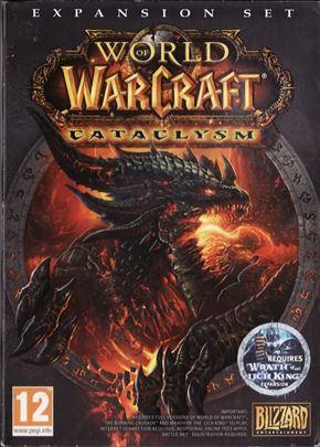 Cataclysm - World of Warcraft  PC igrica