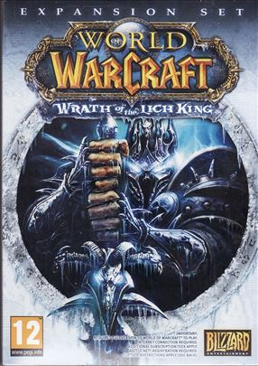 Wrath of the Lich King World of WarCraft PC igrica
