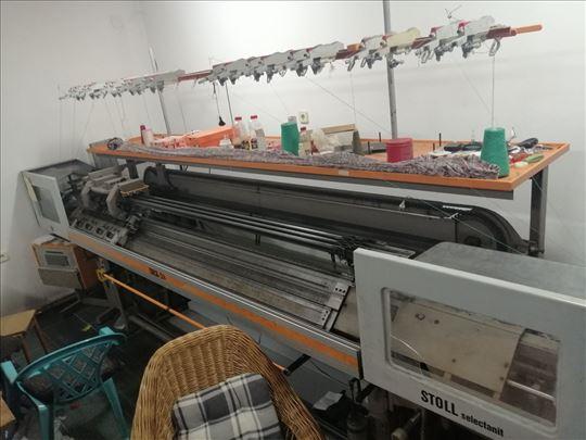 Masina za pletenje i trikotazu