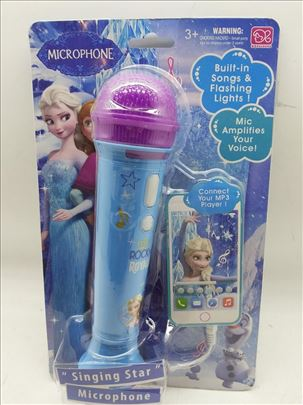 Mikrofon Frozen za Devojčice novo