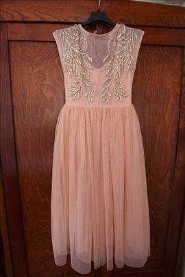 Nova svecana haljina boje breskve