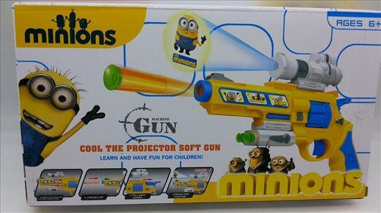 Pištolj sa strelicama Minions AKCIJA-Pištolj Minio