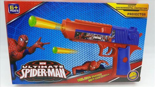 Pištolj sa strelicama Spajdermen AKCIJA-Pištolj