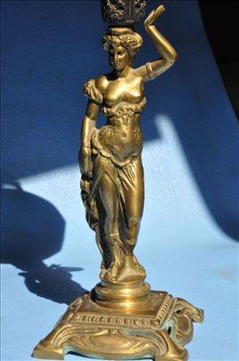 Skulptura žene - lampa
