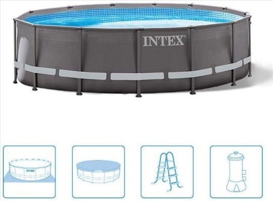 26310 Intex bazen Ultra Frame 4,27m x 1,07m