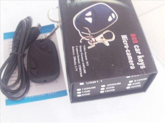 Kamera privezak za ključeve-mikro kamera