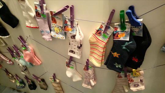 Rasprodaja dečjih čarapica i hulahopki, od 60 din!