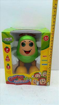 Velika voćka igračka na baterije