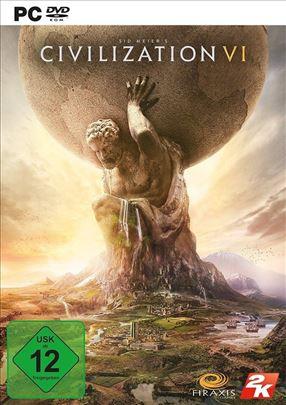 Civilization 6 Sid Meier's (2016) Igra za Računar