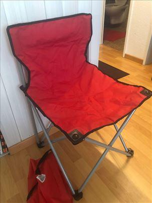 Stolica za kampovanje br.9, uvoz Švajcarska
