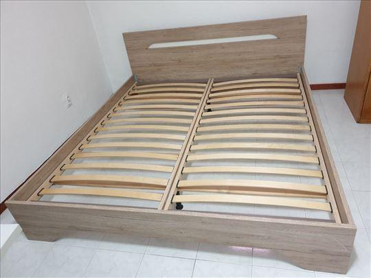 Za zdravu kičmu nov dupli krevet + dušek