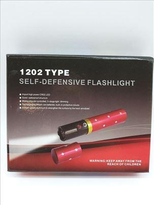 LED Baterijaska lampa za dame novo-Sigurnosna