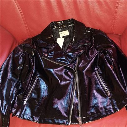 Problem lakovana jakna vrhunski kvalitet 40