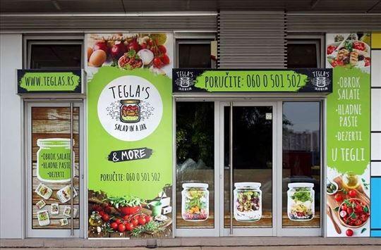 """Prodajem kompletan koncept i biznis """"Tegla' s"""""""