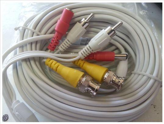 Kabl za video nadzor 10m kablovi 20,kabl30,50,100m