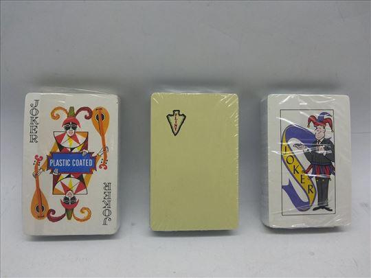 Karte plastificirane/karte za igru novo-špil karte