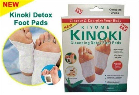 Kinoki - flasteri za detoksikaciju 10 kom, novi