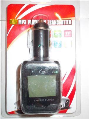 NOV MP3 FM transmiter sa daljinskim I LED ekranom