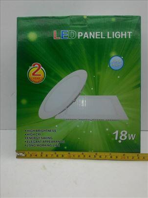 Panel LED svetlo 18W