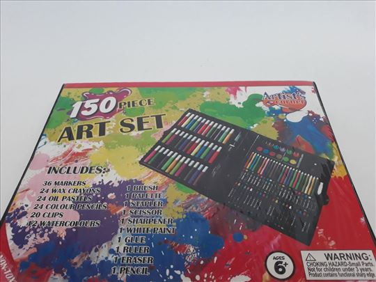 Set za crtanje od 150 delova