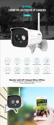 Sricam SH024 1080P Wireless Wifi IP Kamera 2.0MP S
