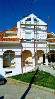 Izrada termo izolacije -fasada