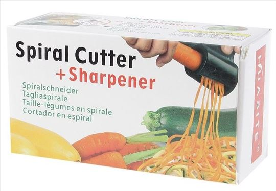 Spiral cutter, spiralni secko i oštrač noževa