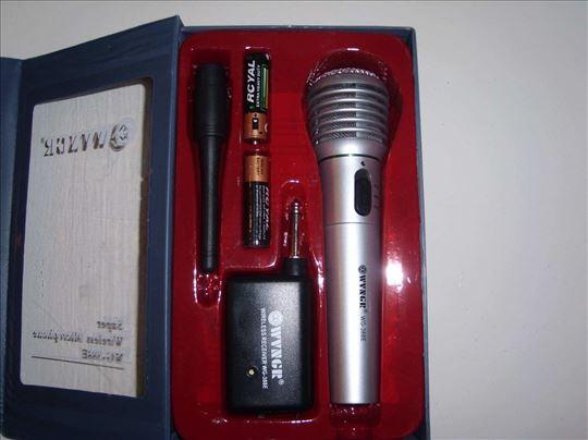 Mikrofon bežični, mikrofon žični, akcija