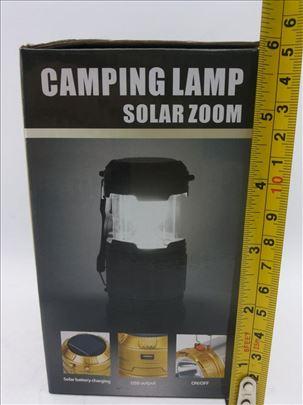 Solarna lampa fenjer model 1