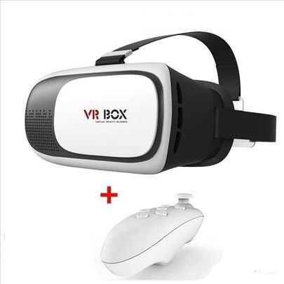 VR naočare BOX 3D + Kontroler AKCIJA VR BOX 3D
