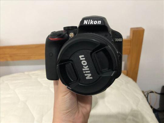 Prodajem Nikon D3400 DSLR aparat polovni