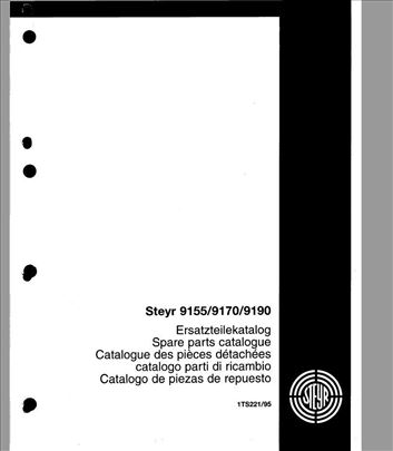 Steyr 9155 - 9170 - 9190  Katalog delova