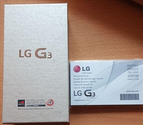LG G3 32GB D855 mobilni telefon