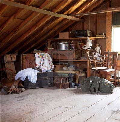 Čišćenje podruma, magacina, poslovnih prostora