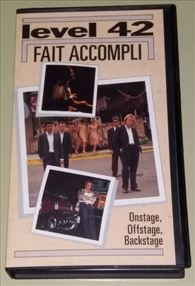 Level 42 - Fait Accompli - Dokumentarni Film - VHS