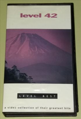 Level 42 - Level Best - VHS