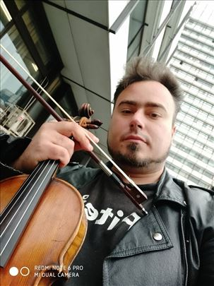 Privatni časovi violine, solfeđa i teorije