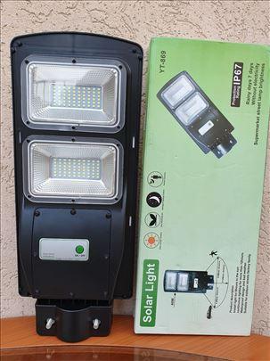 LED reflektor, solarni, 60W za stubnu montažu