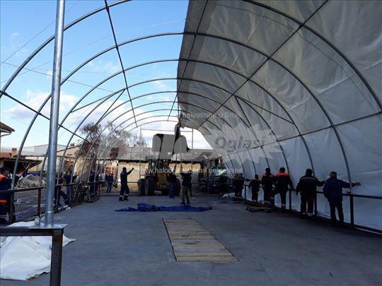Montazne hale, skladišni šatori 110 i 180m2