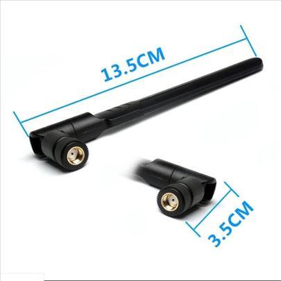 Dual Frequence 2.4G 5.8G 9dbi Wifi Antena RP-SMA