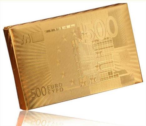 Poker karte 500E GOLD