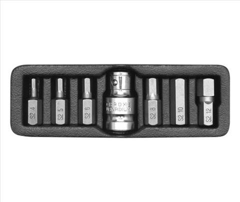 Profesionalni set nastavaka imbusI 4-12 mm, 7 kom