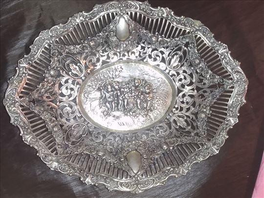 Srebrna činija 300gr.antikvitet