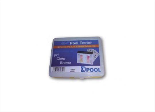 Tester na tabletu za bazensku vodu DPool