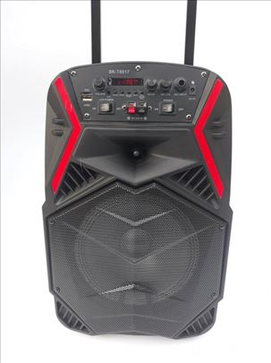 Zvučnik karaoke bluetooth BK-T8017-nov