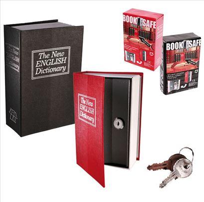 Knjiga - sef za novac i nakit