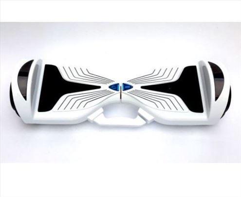 "Hoverboard sa ručkom- električni Skuter 6.5"" - Bel"