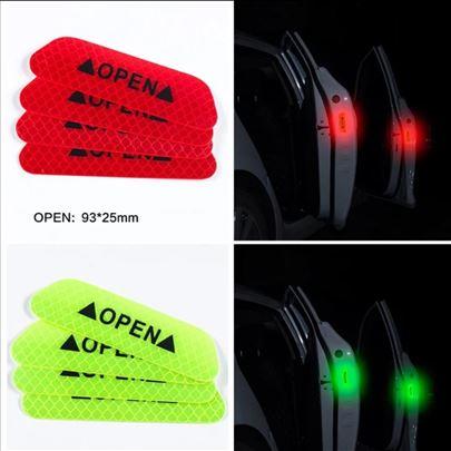Katadiopteri Reflektujući auto stikeri za vrata