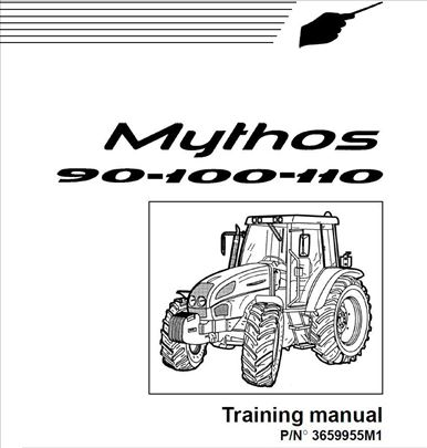 Landini Mythos 90- 100- 110 - Radionički priručnik